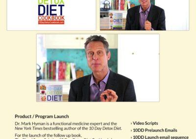Product/Program Launch: Dr. Hyman