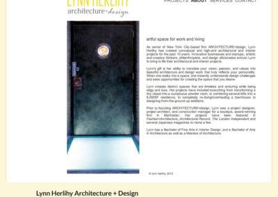 Lynn Herlihy Architecture+Design