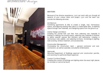 Architecture+Design: Services