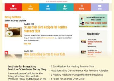 IIN Wellness Today Blog