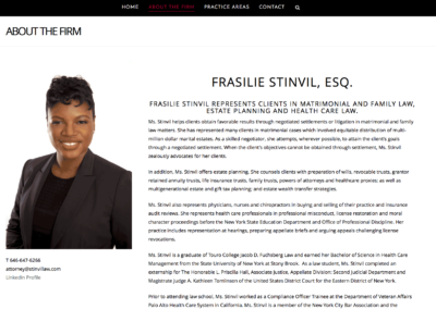 Stinvil Law Firm: About