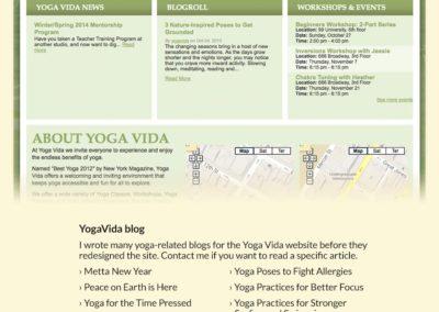 Yogavida Blog